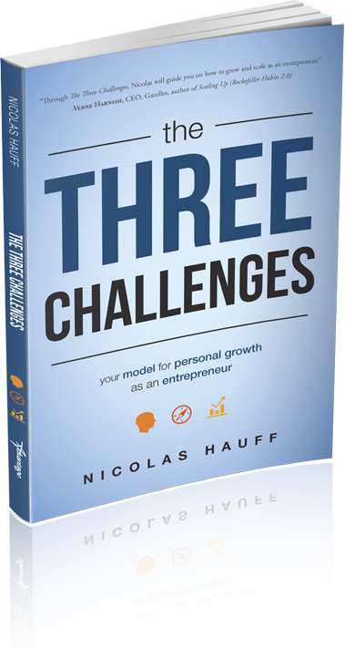 The Three Challenges Book Cover
